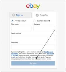 ebay sign in. Simple Ebay Click On Register To Your Account With Ebay Sign In N