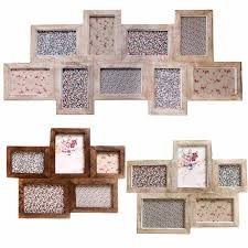 large multi frames photo picture shabby wooden chic