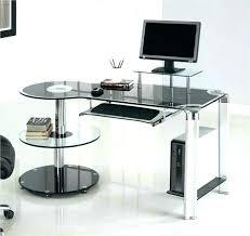 ikea desk office. Plain Desk Ikea Glass Desk Hack Office Curved Black  Study Desks In Ikea Desk Office