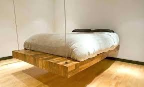hanging bed frames hanging bed frames floating bed frame hanging scroll and frame set bed bath hanging bed frames