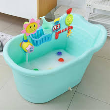 2018 large size children s bath barrel baby bathtub plastic tub portable shower for age of 0 15 thick insulation from newyearable 219 05 dhgate com