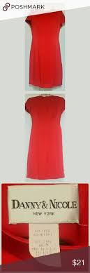 danny nicole red sheath dress size 8 danny nicole red sheath dress size 8 item pmtc 0057 this is a