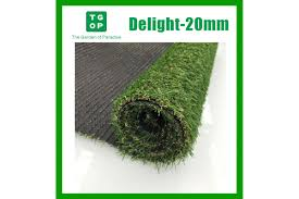 20mm 4 Tone Artificial Grass Synthetic Turf Lawn Carpet 2m Width