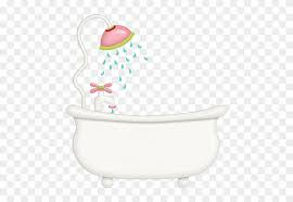 shower head clipart. Contemporary Clipart Pink Shower Head With Bathtub  Bath Tub And Clipart Throughout