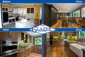 Home Renovation Before And After Glazer Construction Atlanta - Kitchen renovation before and after