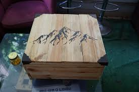 picture of leather tools wooden box