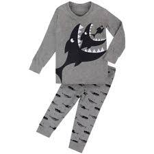big boys airplane pajamas cotton piece children sleepwear  little boys shark pajamas set children cotton clothes kid pjs sleepwear grey 2t