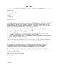 Entry Level Resume Cover Letter Examples 46 Awesome Pilot Resume Cover Letter Examples
