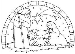 Nativity Coloring Pages Printable 5f9r Nativity Coloring Pages Free