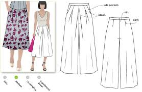 Culottes Pattern Best Erin Woven Culottes Style Arc