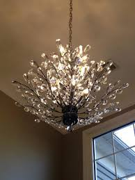 camilla chandelier pottery barn foyer branch of light design home collection knock off