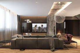 Wall Design Living Room 5 Living Rooms With Signature Lighting Styles