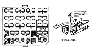 fuse block fuse block identification 92 corsica attached image