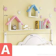 xiaomei shelves children s room floating shelf wall mounting frame box shelf b07glb1cd8