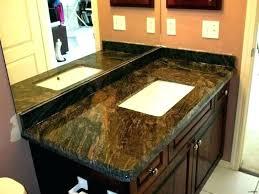 cost of granite countertops per square foot installed cost of how much is granite per square