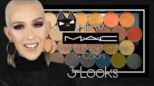 NEW <b>MAC</b> Dazzleshadow Extremes + Revamped Colors / 3 Looks ...