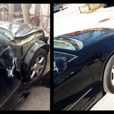 photo of frame auto collision new hyde park ny united states before
