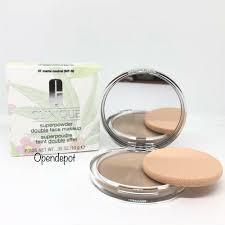 dels about clinique superpowder double face makeup 07 matte neutral fullsize new boxed