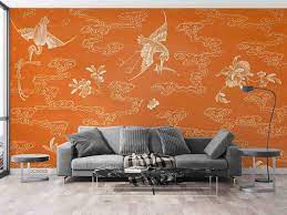 3D Chinese Traditional Painting Wall ...