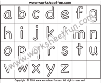 Learn alphabet a to z with drawing & coloring for kids. Alphabet Coloring Free Printable Worksheets Worksheetfun