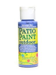patio paint hydrangea blue 2 oz