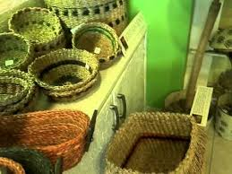 natural grass baskets at baaya design home decor store mumbai