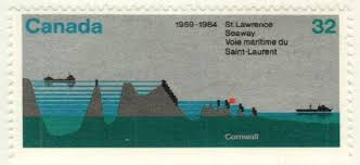 「1959 – The Saint Lawrence Seaway, linking the North American Great Lakes and the Atlantic Ocean, officially opens to shipping.」の画像検索結果