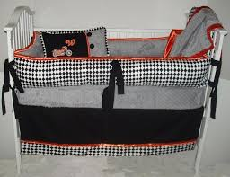 black orange bedding