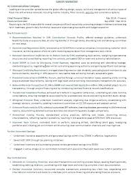 Cfo Resume Examples Awesome Resume Examples For Executives Hflser