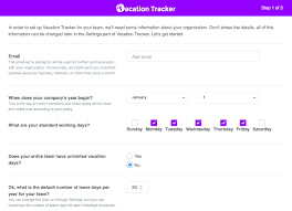 Free Excel Leave Tracker Template Vacation Tracker