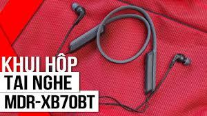 FPT Shop - Khui hộp tai nghe MDR-XB70BT: Quà tặng