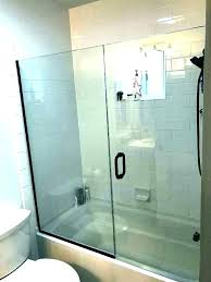 bath and shower enclosures home depot door installation tub doors bathtub glass one piece d curved