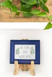diy wood table top easel