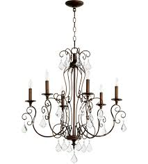 quorum 6205639 ariel 6 light 27 inch vintage copper chandelier ceiling copper chandelier lighting g14