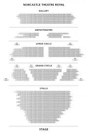 Theatre Royal Newcastle Seating Chart Theatre Royal Newcastle London Show Tickets And Information