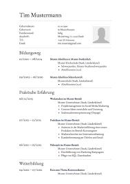 Lebenslauf Muster F R Assistent Lebenslauf Designs