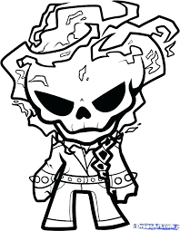 Ghost Rider Coloring Pages To Print Captivating Ghosts Coloring