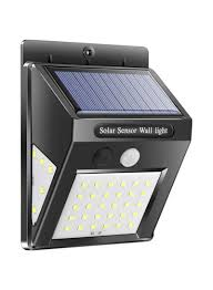 Solar Powered Motion Detector Security Lights Buy Now Generic Solar Powered Motion Sensor Led Light White 13x10x5 Centimeter With Fast Delivery And Easy Returns In Dubai Abu Dhabi And All Uae