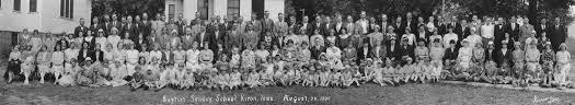 1931 Baptist Church Sunday School