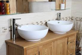 bathroom double sink vanity units. double sink vanity unit with oak bathroom cabinet 1200mm | mobel units