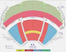 Mgm Arena Seating Map David Copperfield Seat Map Grand