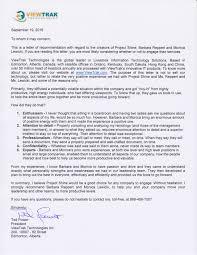 endorsements recommendations project shine leadership client letter of recommendation