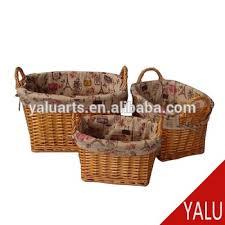 whole fancy gift toy sundries storage baskets handmade wicker basket h 16145
