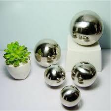 Silver Balls Decor Interesting Silver Garden Spheres Uk Silver Decorative Garden Balls Cheap Garden