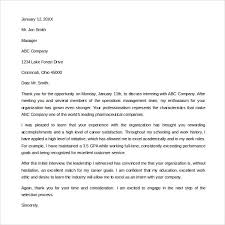 Sample Internship Thank You Letter 9 Free Documents In Pdf Ideas