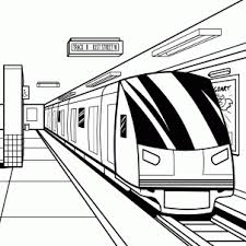 subway train drawing. Wonderful Train How To Draw A Subway Subway Train Step 18 To Subway Train Drawing W