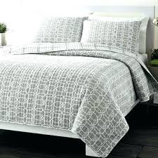Grey Quilts And Coverlets Amazing 89 Best Bedding Images On ... & ... Cotton Coverlets And Quilts Full Queen Grey Geometric Medallion  Reversible Cotton Coverlet Quilt Set Cotton Quilts ... Adamdwight.com
