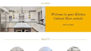Kitchen Cabinet Design Template Kitchen Cabinet Store Website Templates Godaddy