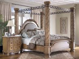 ... Wooden Canopy Beds 2015 13 Wrought Iron Bedside Tables ...