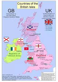 British Isles Venn Diagram What Is The Difference Between England Wales Scotland